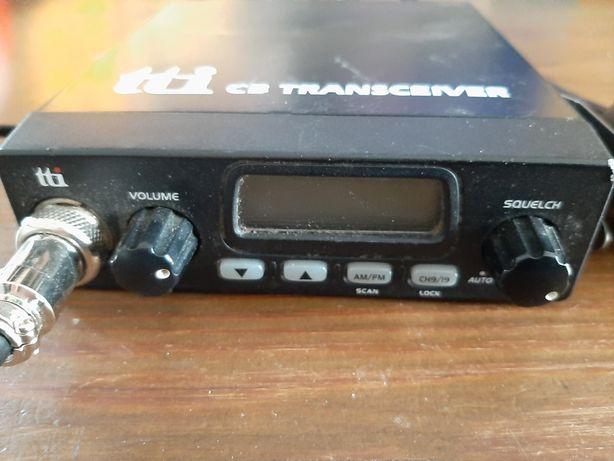 Sprzedam CB radio tti + antena