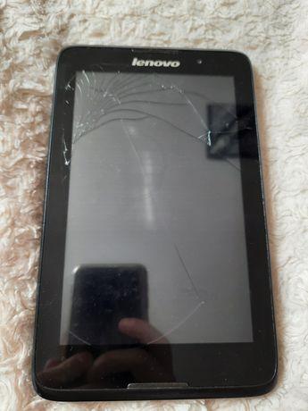 Продам планшет Lenovo с битый дисплеем