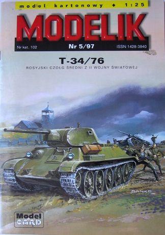 Modelik 5/97 T-34/76