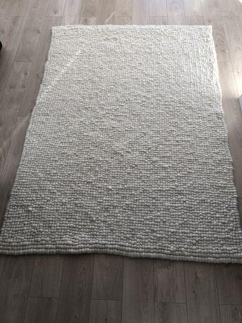 Nowy dywan Amdo Beliani z filcowych kulek 160x230 100% wełna