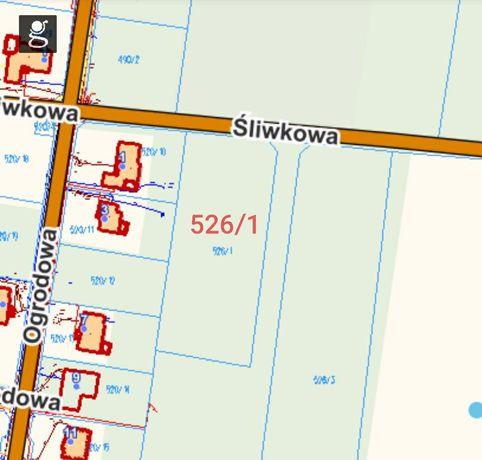 Działka 0,4138 ha Santocko ul. Śliwkowa