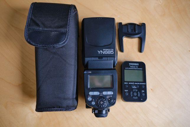 Lampa Yongnuo 685 do Canon + kontroler YN622C-TX