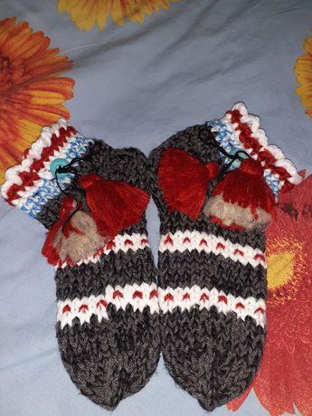 Носки шерстяні (вовняні) гетри капці слідки