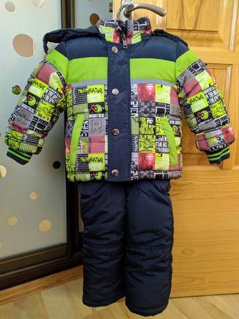 Зимний комплект для мальчика до 1 года
