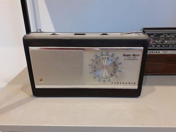Stare zabytkowe radio Panasonic Radar Matic