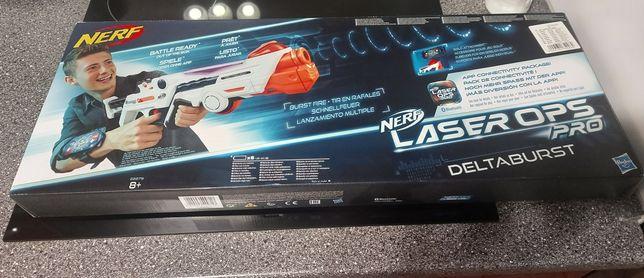 Pistolet laserowy NERF. NOWY!