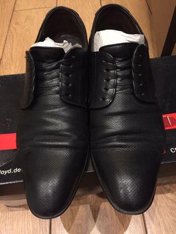 Фирменные кожаные мужские туфли LLOYD размер 40,5 Германия