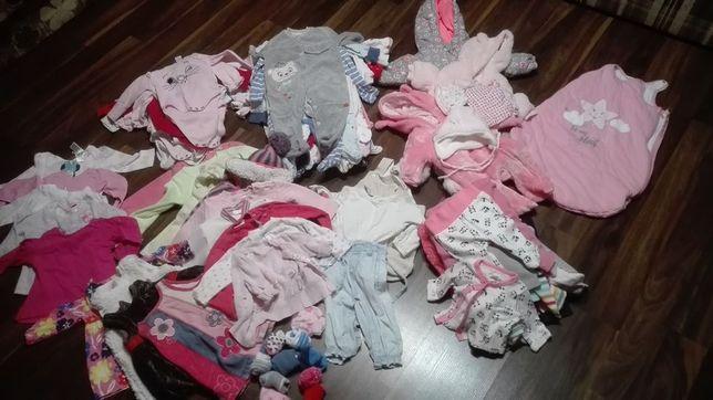 Ubrania dla dziewczynki rozm 56-68