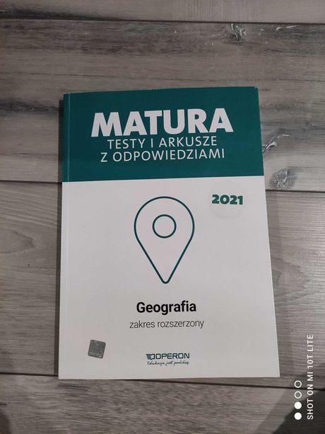 """Ćwiczenia matura z rozszerzonej geografii z wydawnictwa """"Operon"""""""
