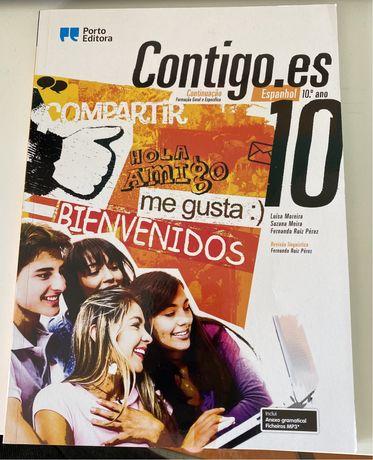 Manual  de Espanhol Contigo.es (Continuação) 10° ano
