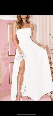 Suknia ślubna pretty little thing S biała