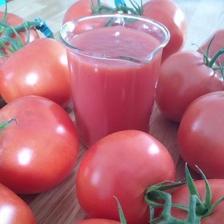 Sok pomidorowy tłoczony na zimno 100% bez dodatków