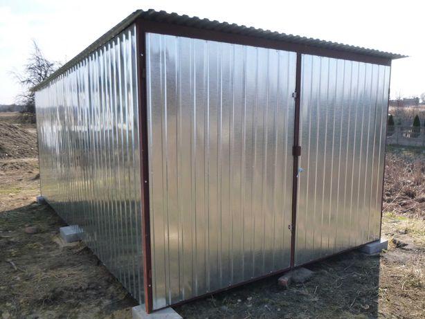 Garaż Blaszany 3x5 Garaż WZMOCNIONY Blaszak na budowę GARAŻE producent