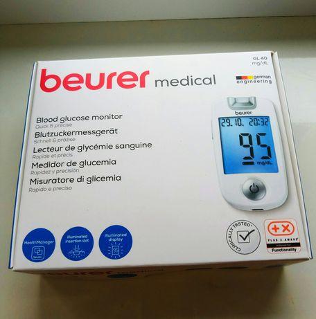 Глюкометр beurer GL 40 новый, не распакован из Германии