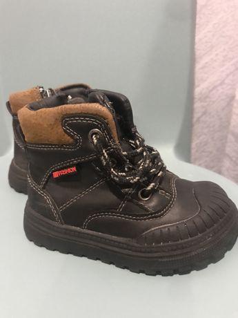 Демісезонні черевички, ботинки сапожки для хлопчика розмір 22