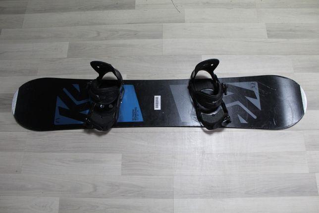 Deska Snowboard K2 EST'87 140 cm + Wiązania RAIDEN