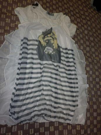 блузка-футболка - туника