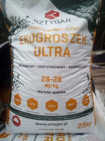 Ekogroszek Sztygar Ultra, Ekogroszek wysokokaloryczny, ekogroszek