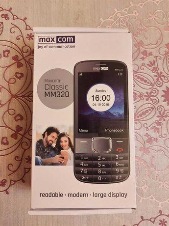 Telefon Komórkowy Maxcom MM320 - Sprawny, Zadbany, Klawiszowy, Senior