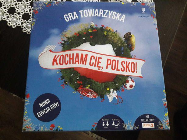 Gra planszowa Kocham Cię Polsko