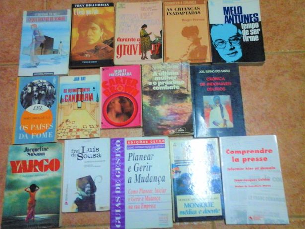 Livros - VENDIDOS EM SEPARADO Bom Estado Lote 6PS - Entrega IMEDIATA