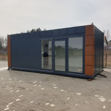 Pawilon handlowy usługowy kontener biuro sklep biurowy kiosk Bar
