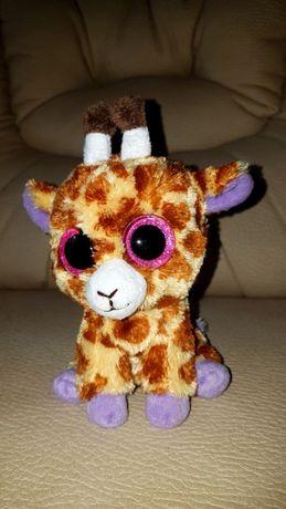 TY Beanie Boos глазастик жираф коричневый SAFARI новый 15 см