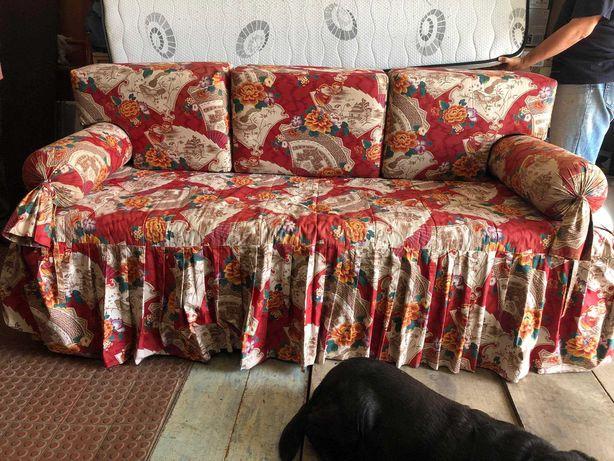 Sofá Cama Vintage - Fabricado por medida