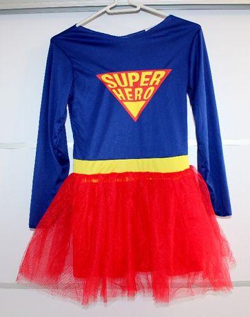 Strój Super Dziewczyny 7-9 lat
