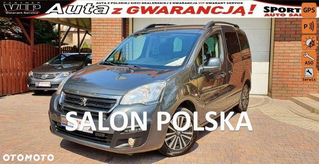 Peugeot Partner 1.6 BHDI 100 KM, SALON PL,I WŁ,KLIMARTONIC F.vat23%,Gwarancja, Leasing