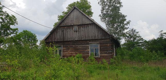 Dom z działką Gontarze gm.Zbójna atrakcyjne miejsce kurpiowszczy rzeka