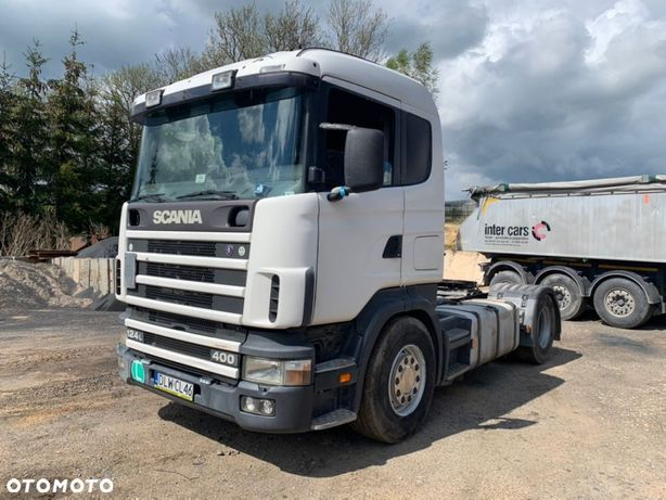 Scania 124L 400 Manual Hydraulika