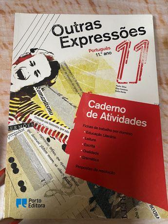 """Caderno de Atividades/Caderno de Apoio ao Estudo  """"Outras Expressões"""""""