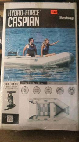 Nowy ponton  Hydro Force 2 osobowy drewnianą podłogą