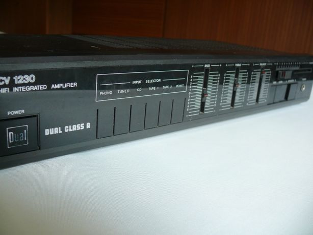 Wzmacniacz stereo HI-FI class A Dual 1230