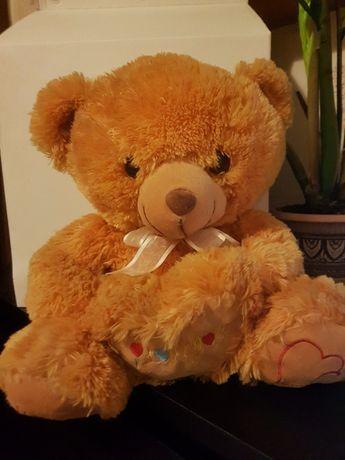 Большой мягкий медведь мишка