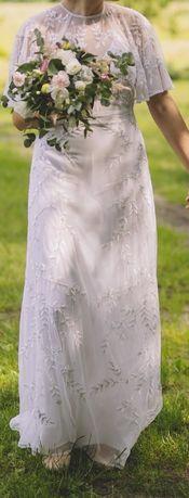 Suknia ślubna boho (ASOS)