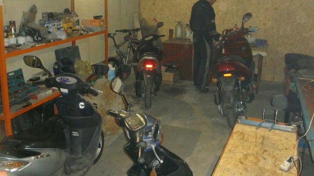 Ремонт скутеров и мото в Виннице