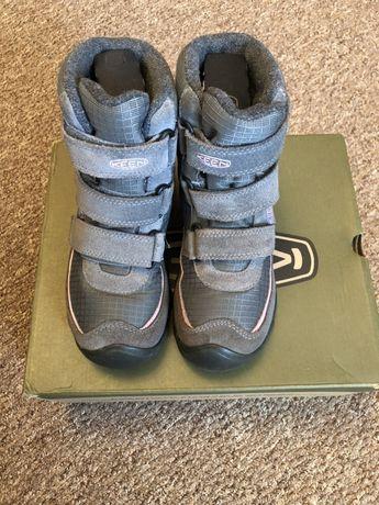 Зимние ботинки Keen на девочку 32-33