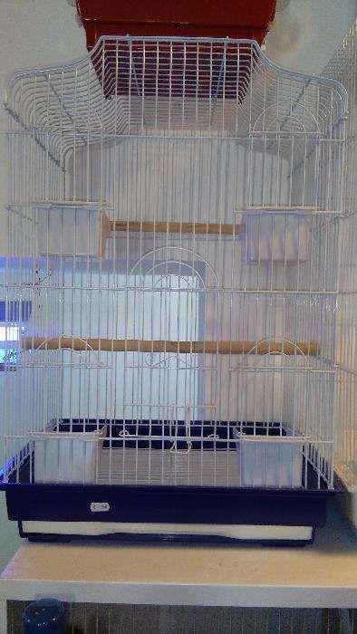 Gaiola para caturras/papagaio Valongo - imagem 1