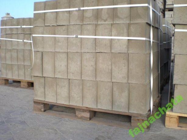 bloczki betonowe fundamentowe wibroprasowane 120x250x380 z betonu b15
