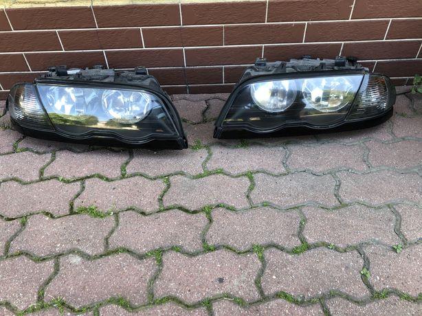Reflektory lampy kierunkowskazy e46 sedan touring przedlift