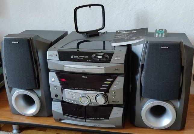 Wieża Thomson Altima 580 CD radio kaseta subwoofer 2x170W sprawna