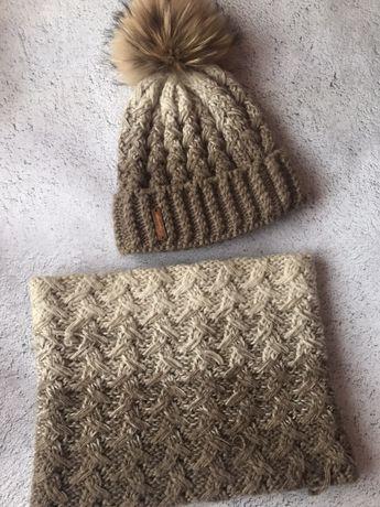 Комплект: шапка и хамут