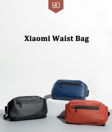 Сумка Xiaomi 90Fun рюкзак Mijia бананка Mi Home ранец мессенджер