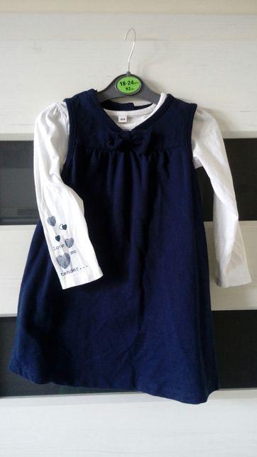 Komplet sukienka r.98