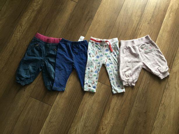 spodnie r. 80