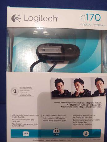 Kamera do Skype Logitech C170 USB WebCam z Mikrofonem