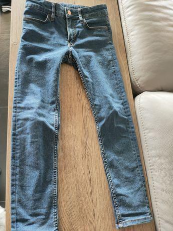 H&M Spodnie jeans 134