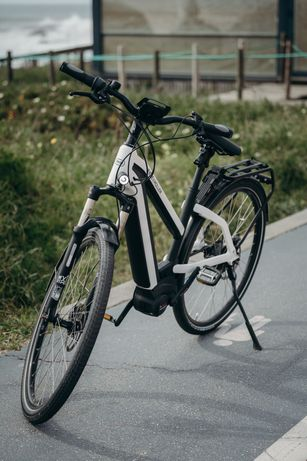 Bicicleta Elétrica - Ebike: Charger Silent Mixte, da Riese & Müller
